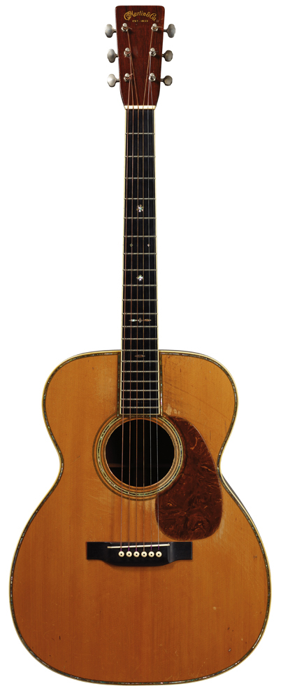 Eric Clapton's 1939 Martin 000-42