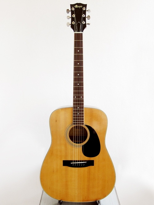 Maya F335G, Dreadnought, Made in Japan, 1970's