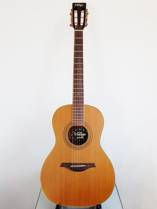 Vintage V880N, Parlour acoustic, 2009