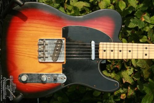 Fender Telecaster Sunburst 1977