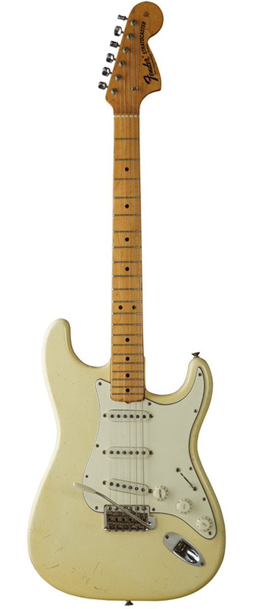 The Fender Stratocaster Jimi Hendrix played at Woodstock in 1969