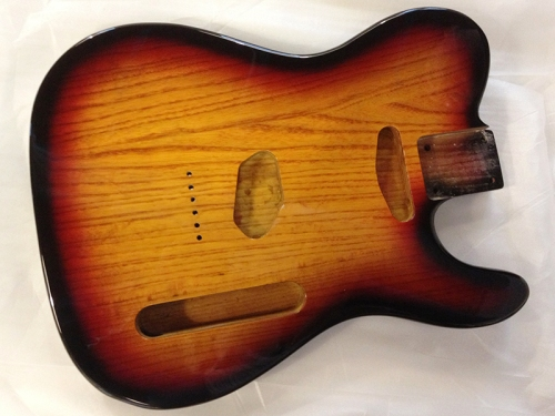 Mighty Mite Swamp ash Tele body
