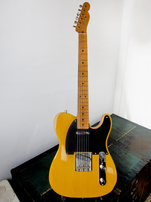 Fender Telecaster TL52-75, '52 re-issue Made in Japan, FujiGen 1989