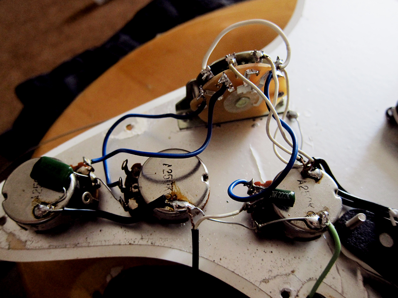 Wiring Schematic Full Record For Mighty Mite Guitar Electronics Wiring