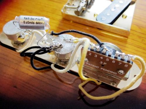 Telecaster electronics