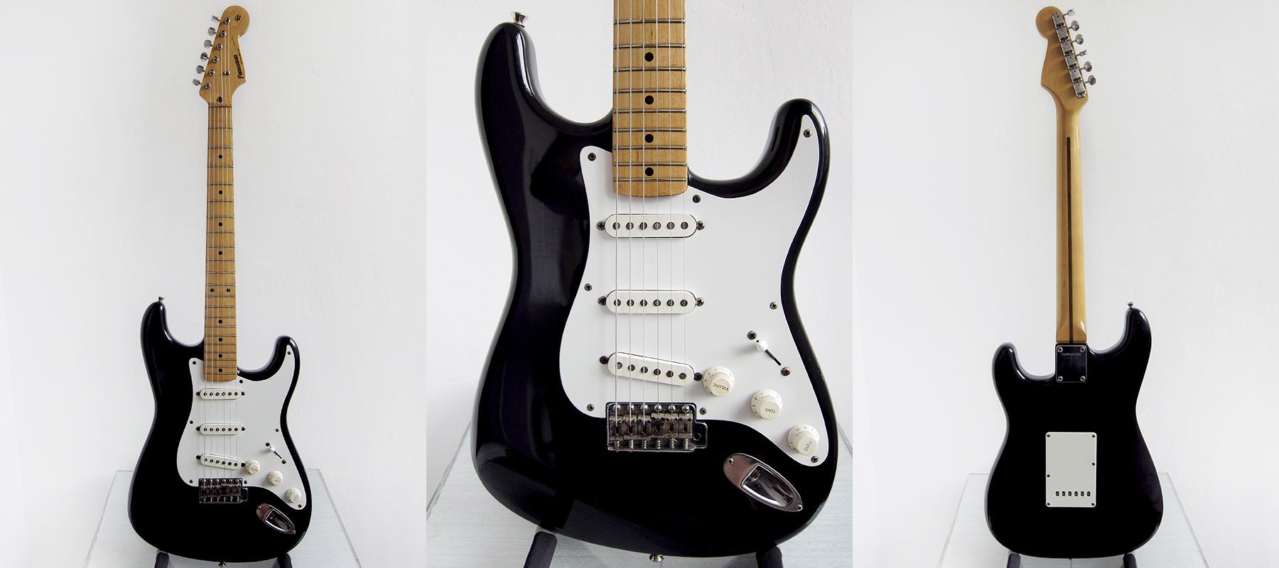 Hookup Fernandes Guitars Next to Headstock Shape & Logo