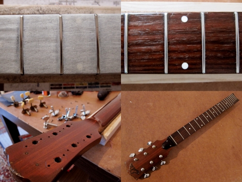 How to crown and polish frets