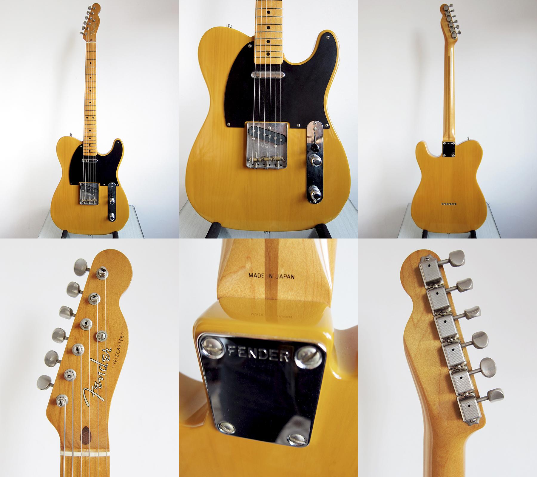 dating fender japan guitars