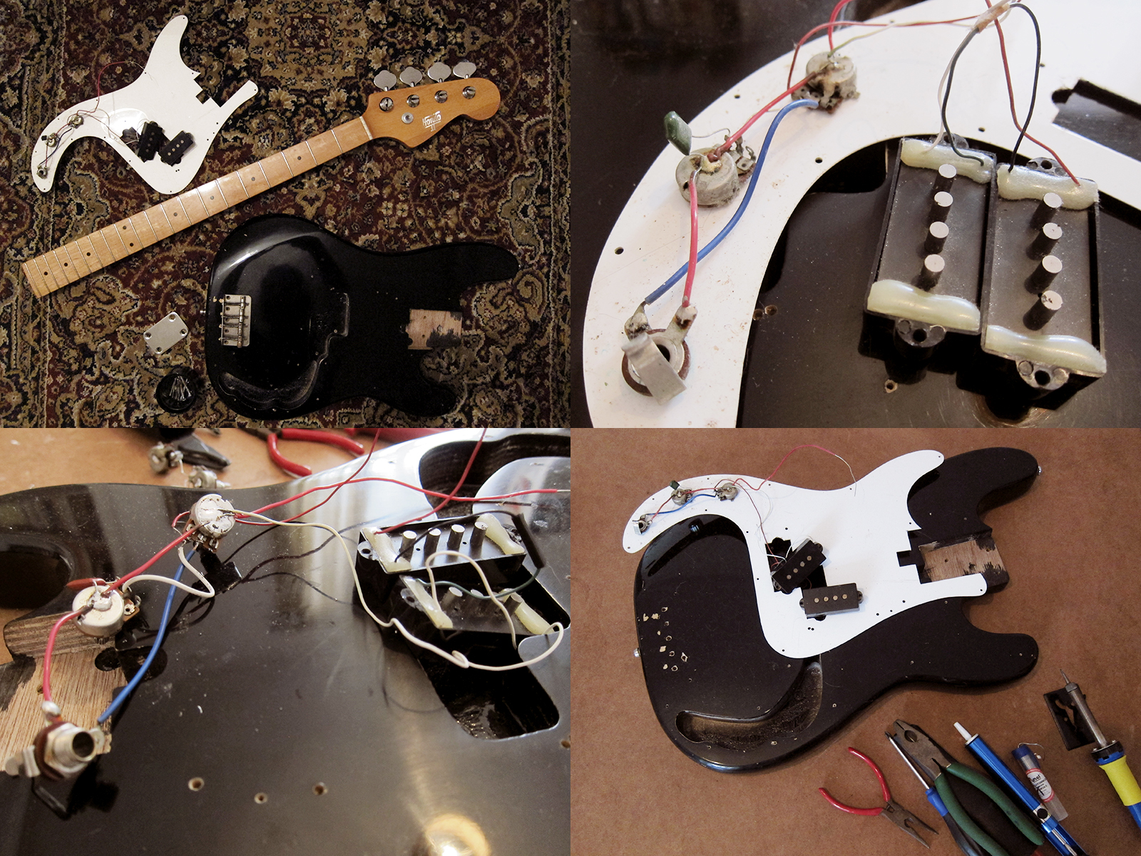 Wiring Diagram For Pj Bass