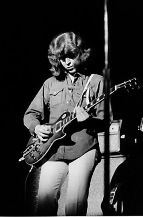 Mick Taylor with Keith Richards 1959 Les Paul Standard