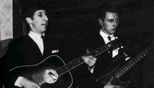 The Who in 1963 as the Detours, Pete Townshend playing a Levin Goliath LM-26