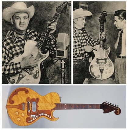 Merle Travis Paul Bigsby guitar