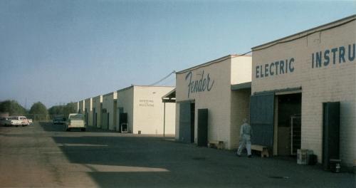 Fender Fullerton Factory 1959