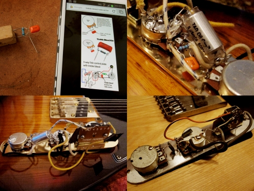How to... install a treble bleed, Telecaster, Claescaster