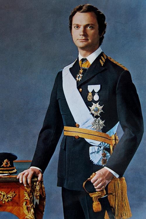 Kung Carl XVI Gustaf 1973