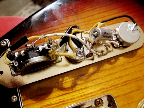 Claescaster, Telecaster,  50′s vintage wiring