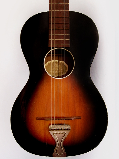Levin Model 65 parlour guitar Made in Sweden 1942