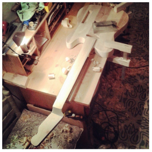Claescaster, hand built guitar, How to build a Telecaster