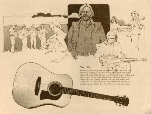 1979 Mossman Catalog - Flint Hills Mossman 1979