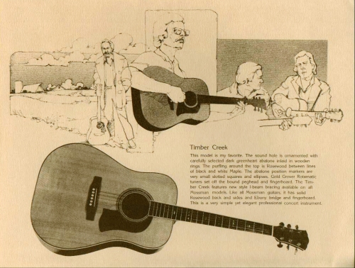 1979 Mossman Catalog - Timber Creek Mossman 1979