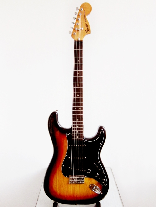 Fender Stratocaster Made in USA 1979, 3 tone Sunburst, hardtail