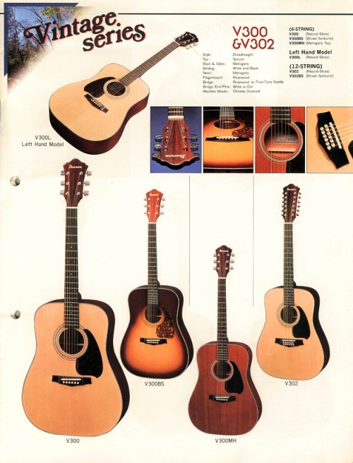 Ibanez catalogue 1983-84