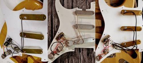 Tacoma Stratocaster Made in Japan 1970's pickups