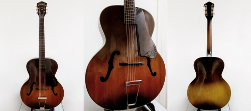 Harmony Monterey, Made in USA 1950's 784H1325