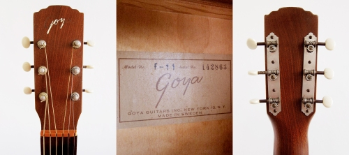 Levin Goya F-11 Made in Sweden 1963
