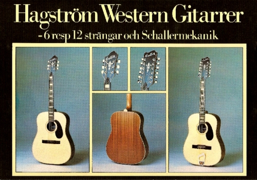 Hagström Western 6 Made in Sweden 1978