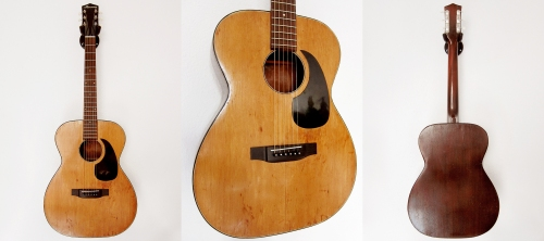 Harmony H-162, Made in USA